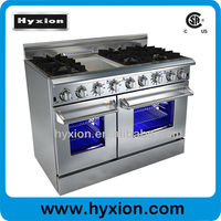 Kitchen Appliance Wholesale Countertop gas range with Grill Top