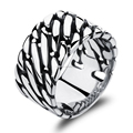 Daihe vintage Stainless steel men rings