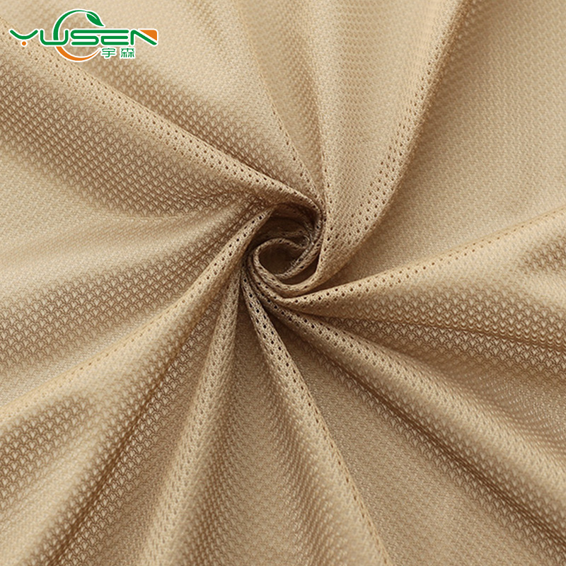 Shaoxing manufactory price 5:1 FDY mesh fabric for sportswear