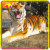 KANO1070 Customized Frightening Handmade Animatronic Tiger Sculpture
