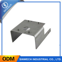 customized aluminum sheet metal fabricaton parts in manufacture