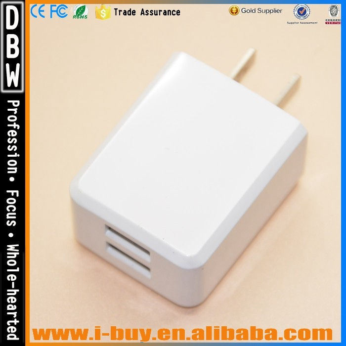 Fast charger mobile phone accessories Micro Auto Universal 5V 3.1A USB charger