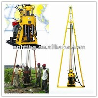 Used Borehole Drilling Machine 200m water bore well drilling rig underground water drilling machine