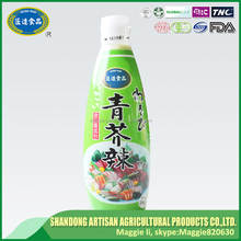 Factory manufacture Sushi seasoning horseradish wasabi with BRC