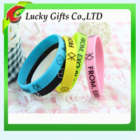 Colorful Custom Free Silicone Wrist Band