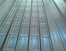 BS1139 q235 Galvanized 210*45*1.0*1m metal decking platform