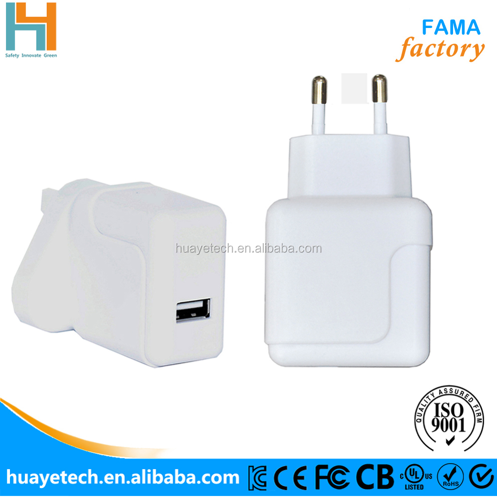 High quality CE RoHS approved 5V 2.1A 10W usb computer charger