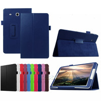 Shockproof PU leather tablet flip cover case for 8 inch Samsung Galaxy Tab E 8.0 T377V