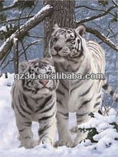 Wholesale lenticular animal print painting