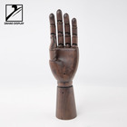 Display mannequin wooden hand for garment accessory display