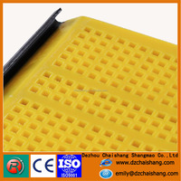 2016 New Condition banana screen, mining sieves,vibrating mesh with corrosion resistance