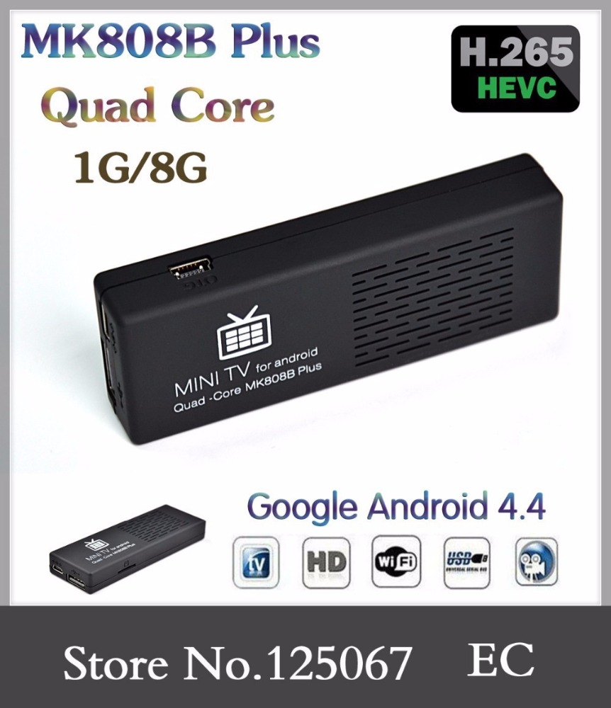 iptv streaming android tv box server japanese digital tv receiver mk808b dual core amlogic S805 KODI/XBMC