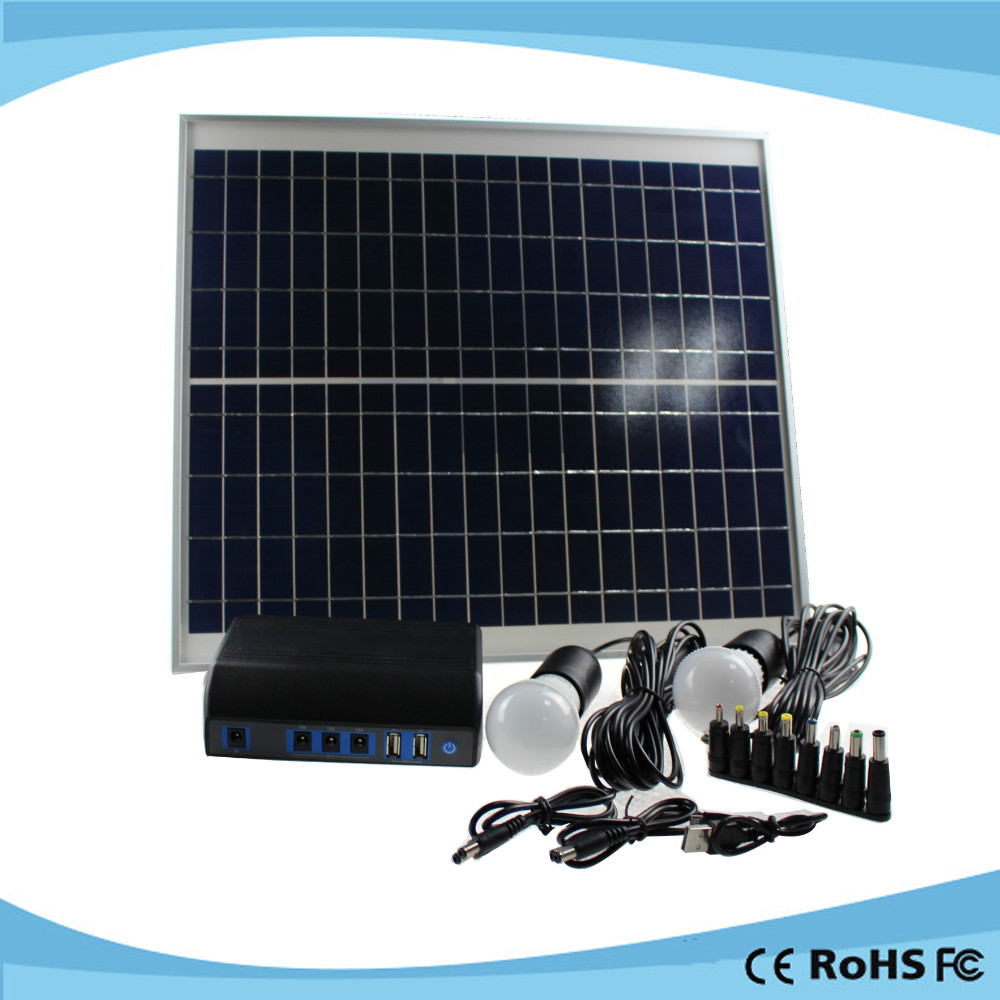 China competitive cheap 20W kit energia solar residencial