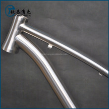 "17"" Titanium mountain bike Frame/ Titanium MTB bike frame"