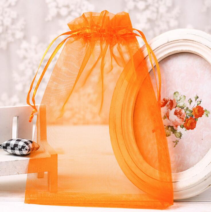 Pure Organza bags and transparent yarn bags