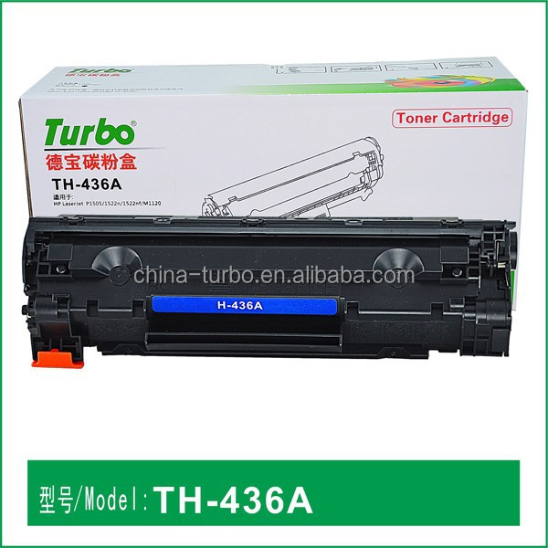 22 years manufacturer, compatible HP CB-436A CB436A 36A toner cartridge for M1522NF HP1505
