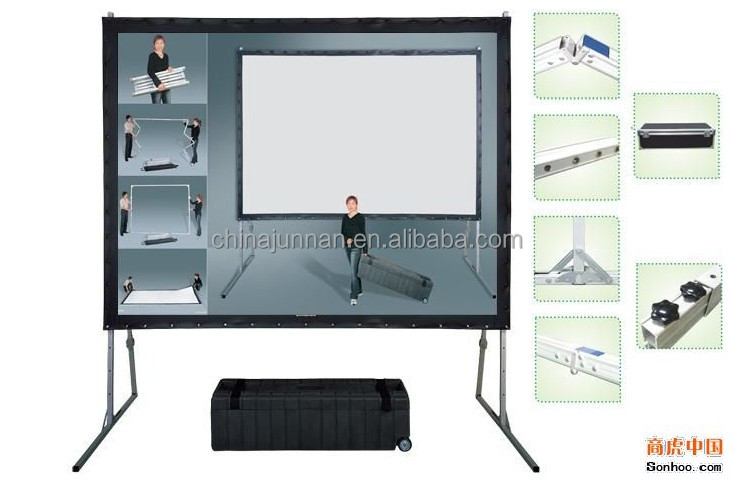 electric wall mount projector screen