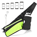 New arrival china manufacturer portable waist bag for iphone X ,cards,keys and water bottle