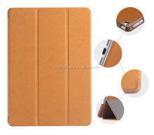 Luxury Retro Deer Skin Leather Flip Case For iPad 2 3 4 Three Fold Smart Sleep Wake Stand Tablets Case