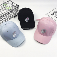 Customizing different logo embroidery 6 panel dad hat/OEM 100% cotton high quality funny baseball cap
