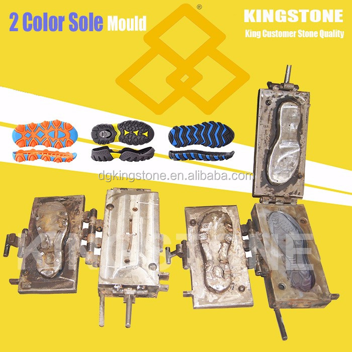 KINGSTONE Two Color PVC Shoe Sole Injection Mold