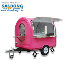 electrical mobile food cart and truck for sale