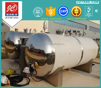 Horizontal type stainless steel lpg gas storage tanks for sale