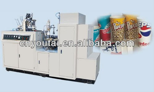 China Ruian Automatic Paper Cup making and paper handle affixing Machine