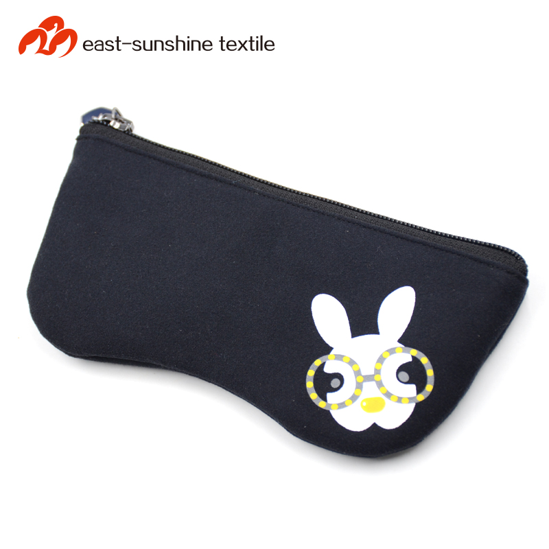 High quality custom printed microfiber zipper pouch with reasonable price