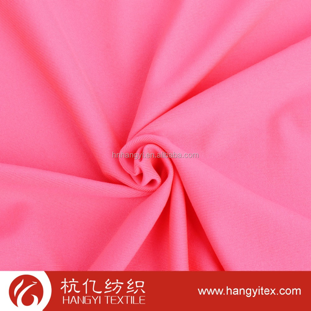 Hot selling 100% polyester knitted jersey fabric for soccer