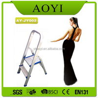 household 2 Steps Heavy Duty Folding Step Ladder