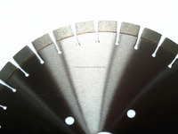 Professional Manufacturers wet cutting brazed 350mm diamond band saw blade