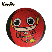 Durable rubber ball children basketball