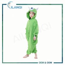 ALQ-C001 Cartoon animals cosplay costume kids thermal pajamas
