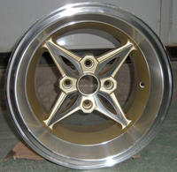 "deep lip 14"" racing aluminum wheel rim/ car alloy wheel 4x100"