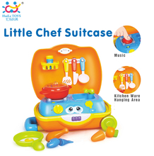 Huile toys china toy factory toy pretend play kitchen set with ASTM