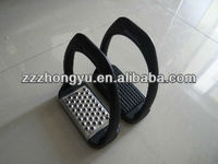 black plastic saddlery stirrups