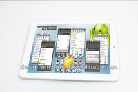 New arrival 10 inch Android tablet PC with slim design