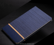 Tablet Custom Canvas Denim Skin Leather Book Cover Stand Case for Samsung Galaxy Tab 3 10.1 P5200