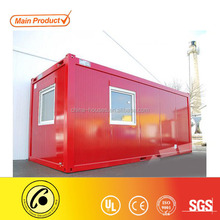 ISO9001 CE Certificated Prefab Sandwich Panel 20ft flat pack container house