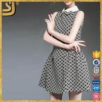 New Arrival fashion club dress, sleeveless casual short mini dresses, latest dress pattern for ladys
