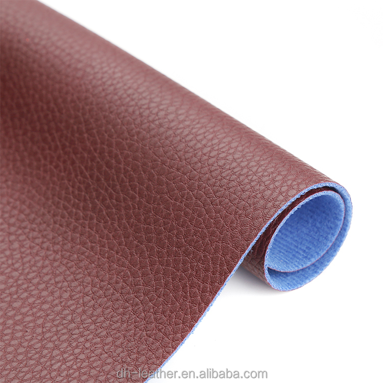 Chinese goods wholesales Embossed cotton pu artificial leather for shoes
