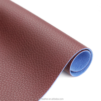 Emboss Imitation Cotton Pu Artificial Leather