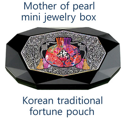 Korean Traditional Fortune Pouch mini jewelry box