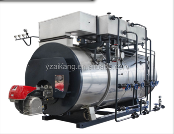 WNS series automatic 2t/h oil heating steam boiler