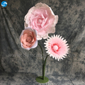 Hot sale fashion wall decorations modern professional wholesale artificial rose flowers