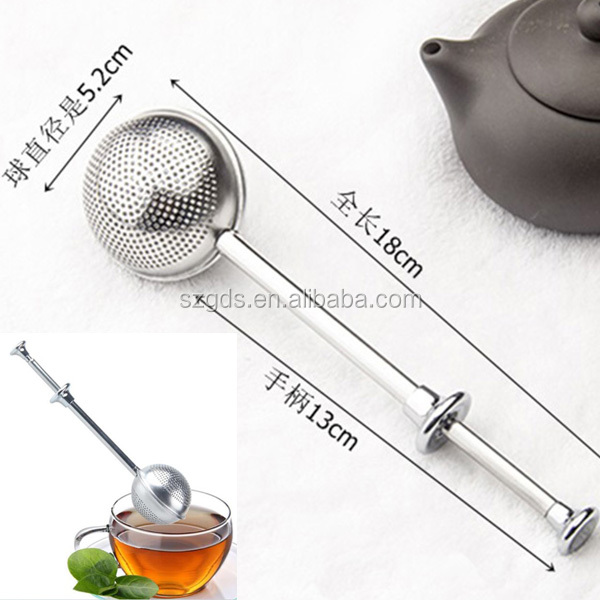 Set of 2 stainless steel Long Handle Tea Infuser with Scoop