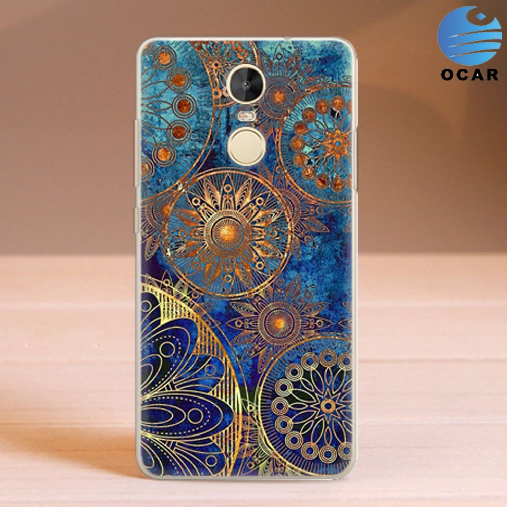 Printed Personalized Soft TPU Phone Case for Xiaomi Redmi Note 3