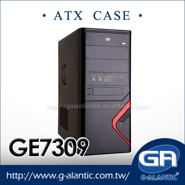 GE7309 - Desktop Computer Mid Tower Micro ATX PC Case