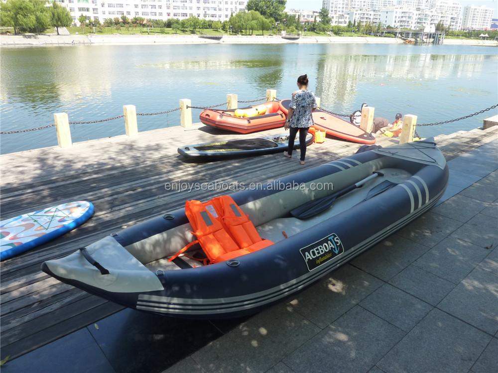 надувная удобная для рыбалки лодка
